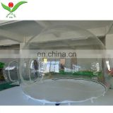 Full view outdoor event transparent room inflatable bubble tent