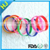 Supply all kinds of silicone bangle with best choice
