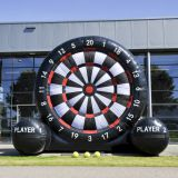 Outdoor Giant inflatable football/soccer golf dart board game
