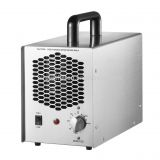adjustable 1400mg portable air cleaner powerful ozone O3 generator for air treatment (stainless steel)