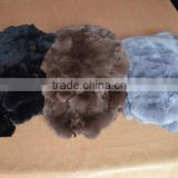 100% genuine rabbit fur for rug