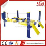 Factory Directly Supply CE approved high quality hydraulic used 4 post car lift for sale                                                                                                         Supplier's Choice