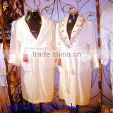 Luxury Hotel Supplies Waffle Weave Bath Robes/Embroidered Hotel Bath Robe