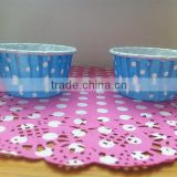 Polka Dot Water Oil Resistant Paper Tart Cake Tartlet Muffin Baking Cup