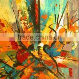 Factory Price Best Quality Skilled Painters Handmade Abstract Violin Wall Art, Oil Painting on Canvas for Decoration