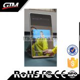 "24"" Wall Mounted Mirror Screen Ad Player Capacitive Touch Screen Wifi Android Kiosk Advertising Display Lcd Mirror Tv"