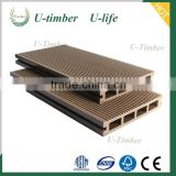 UV-protect outdoor WPC decking terrace with best price and profesional service