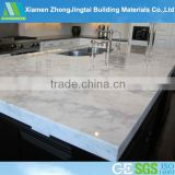 PURE WHITE QUARTZ SLAB COUNTER TOP/ KITCHEN TOP/VANITY TOP/TILES