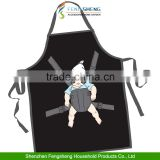 Novelty Hangover Boy Baby Sunglasses Funny Apron Bib for Home Kitchen BBQ Party
