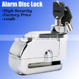 New Motorcycle alarm disc brake lock