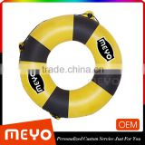 PVC inflatable kid swimming ring life buoy swim lap swim tube
