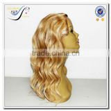 Wholesale half wig clip in hair extensions 100% human hair clip in hair extension