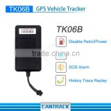 GPS/GSM /GPRS Quad Brand car tracker TK06B with vibration Alarm&TF Storage gps tracker