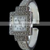 Mexican style ladies vintage bangle fashion watch