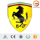 Car decoration high quality custom single 3d chrome car logo sign and names automobile logos