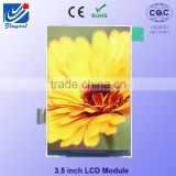 3.5 inch 480X320 transparent transflective tft lcd 12 months