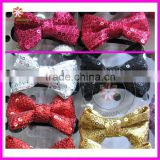 GLITTER SEQUIN BOW HAIR BAND