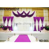Wholesale wedding decoration fabric ceiling drape for wedding events&part(BD-001)