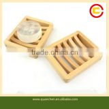 Natural Lath-shaped Bamboo Baby Case For Soap