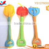 High quality kids shovels plastic sandy mould big rake shovel toy for sale