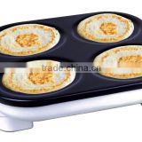Non-stick Coating Crepe Maker / Pancake Maker / Bread Maker / Hot Plate