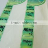 PVC Adhesive Labels/ hang tags/sticker/ barcode label/ labels