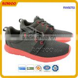 Breathable mesh factory Men Athletcic Running shoes with anti-slip sole