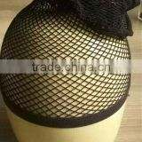 Alibaba express direct factory wholesale price all mesh cap for wearing wigs