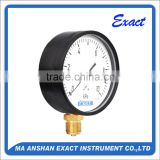 black steel lpg low pressure capsule pressure gauge