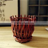 2016 New Wicker Vintage Vase Willow Vase flower vase Home Decoration Flower vase