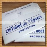Half Fold Disposable Paper Toilet Seat Cover Hotel/Airplane/Hospital