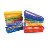 New Teacher Supplies Plastic Classroom Pencil and Marker Baskets Miscellaneous Storage Baskets Bins Multi-purpose Desk Organizer
