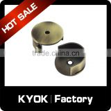 KYOK high quality curtain rod fitting, metal cutain pole connector, curtain pole accessories on wholesale