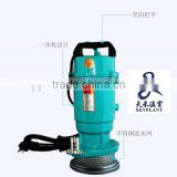 Electric water pump for irrigation hydroponic system