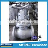 API6D casting steel industrial control globe Valve drawing