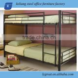 Metal bunk mattress bed
