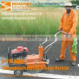 thermoplastic road marking removal machine