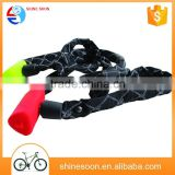 Shinesoon Factory Selling Bike Lock /rubber bicycle cable lock /cheap lock for bike