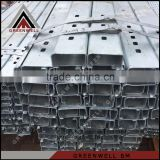 Cost price top sell PRE GALVANIZED steel construction profile c purlin                                                                         Quality Choice