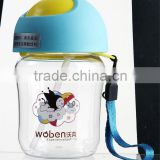 food grade baby training cup with handle