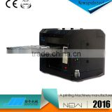 8 color CD flatbed printer with A3 size cheap price uv printer used                                                                         Quality Choice