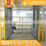 guide rail chian platform lift/car lift hydraulic lifter/guide rail lift