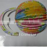 wholesale handmade decorations accordion paper balls party paper lantern