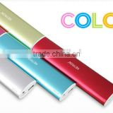 phone case 10400mah lipstick portable power bank charger 6000ma