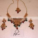 Designer Exclusive Indian Costume Fashion Imitation Jewellery ~ Artificial Gold Kundan Bridal Jewelery