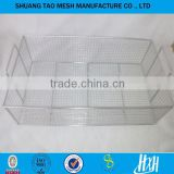 Stainless steel disinfection cleaning basket&Customize Sterilization Stainless Steel Wire Mesh Tray and Basket(guangzhou)