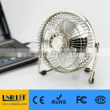 Mini fan usb 6 inch fan bronze plating premium quality office supplies in summer                                                                         Quality Choice