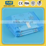 High quality PE back sheet paper napkins manufacturers brand name sanitary napkin