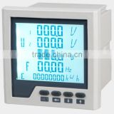 120*120 Three-phase harmonic filter multifunctional power meter with energy power pulse output