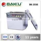 Household Christmas Gift BAKU Professional LCD Digital Ultrasonic Cleaner With CE Approval BK 3550                                                                         Quality Choice